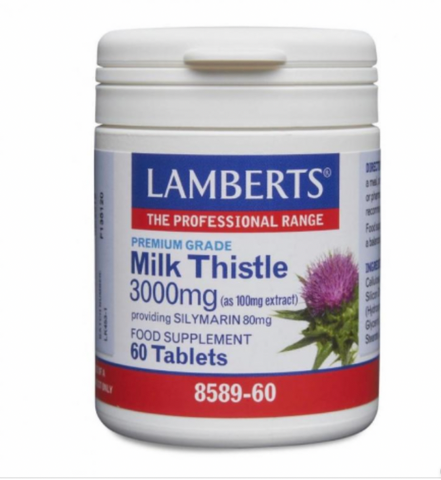 Milk Thistle 3000mg (60 tablets)