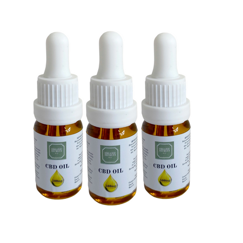 Organic Secrets CBD Oil 500mg Triple Pack