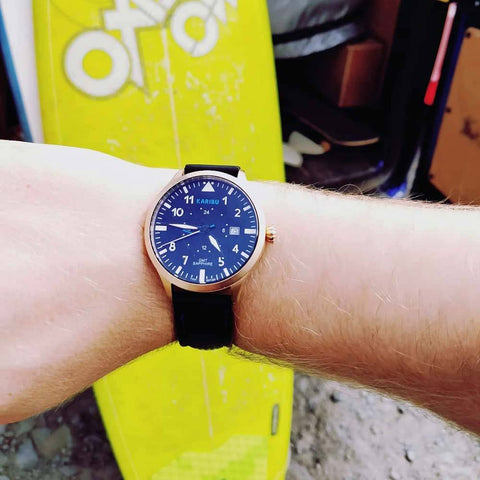 Karibu mens adventure watch Dubai surfing