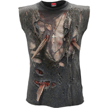 Load image into Gallery viewer, Men's 3D Zombie Wrap Sleeveless Top