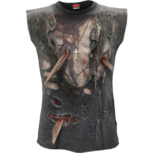 Men's 3D Zombie Wrap Sleeveless Top