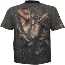 Load image into Gallery viewer, ZOMBIE WRAP - Allover T-Shirt Black