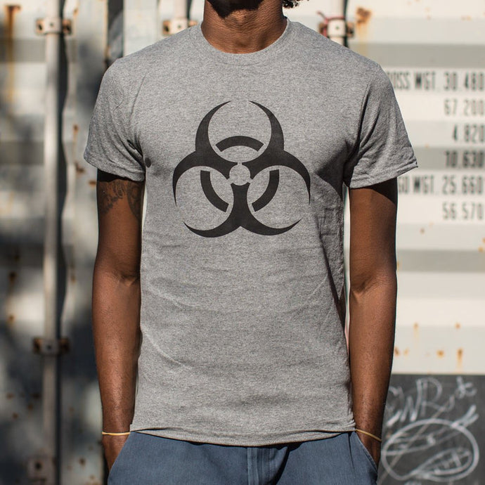 Men's Biohazard Print Short-Sleeve T-Shirt