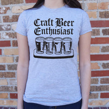 Load image into Gallery viewer, Women's Short-Sleeve T-Shirt - ''Craft Beer Enthusiast''