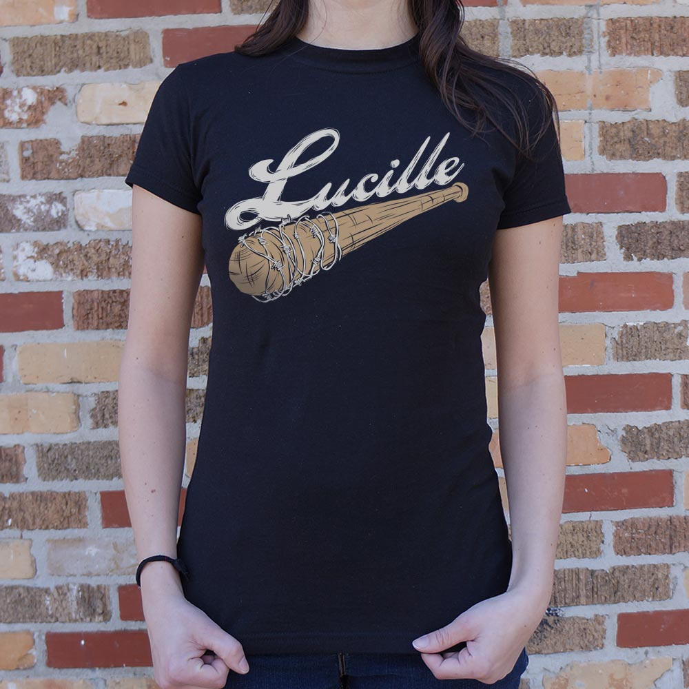 Women's Short-Sleeve Graphic Tee - ''Lucille''