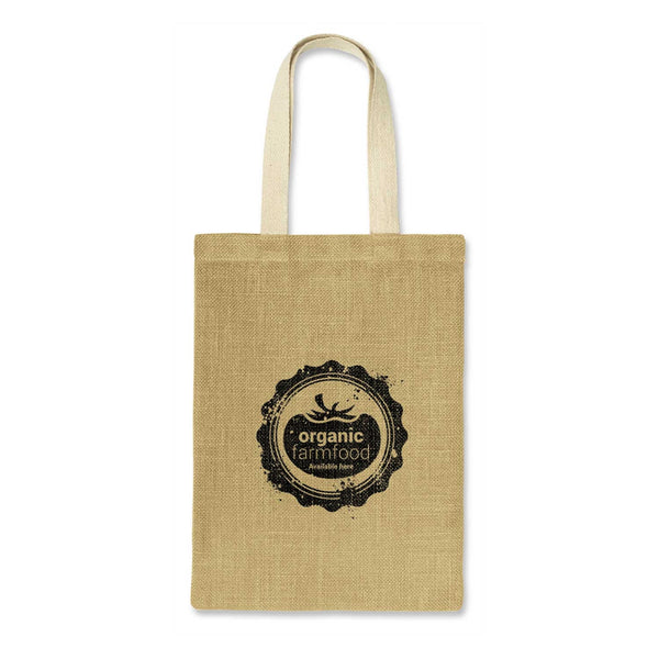 Jute Tote Bag Without Gusset