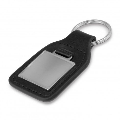 Baron Leather Key Ring - Square