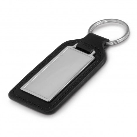 Baron Leather Key Ring - Rectangle