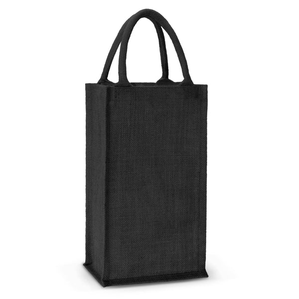 Jute Wine 2 Bottle Bag