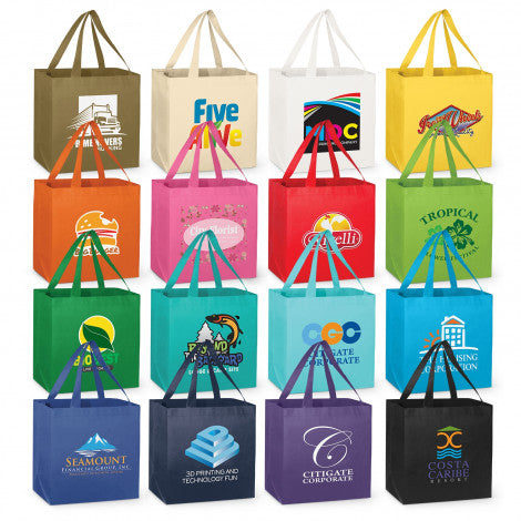 Non Woven City Shopper Tote Bag