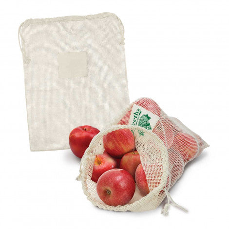Calico/Cotton Produce Bag