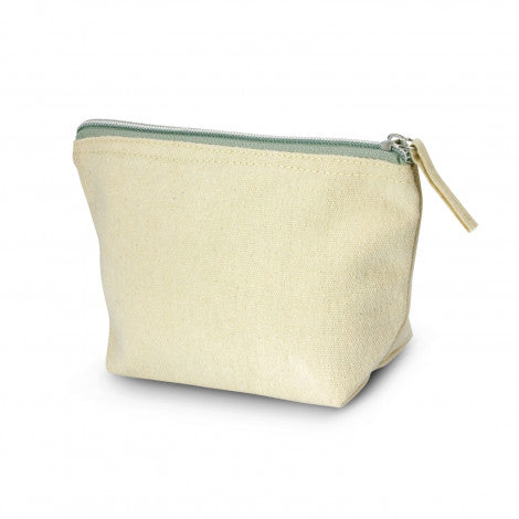 Calico/Canvas Eve Cosmetic Bag - Small