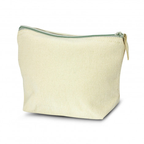 Calico/Canvas Eve Cosmetic Bag - Medium
