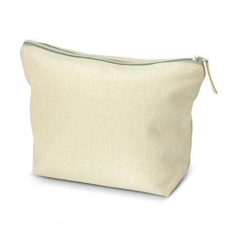 Calico/Canvas Eve Cosmetic Bag - Large