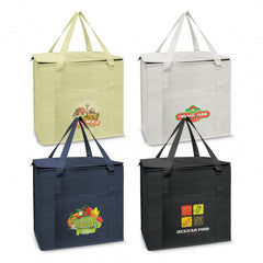 Sierra Non Woven Shopping Cooler - Slip Pocket