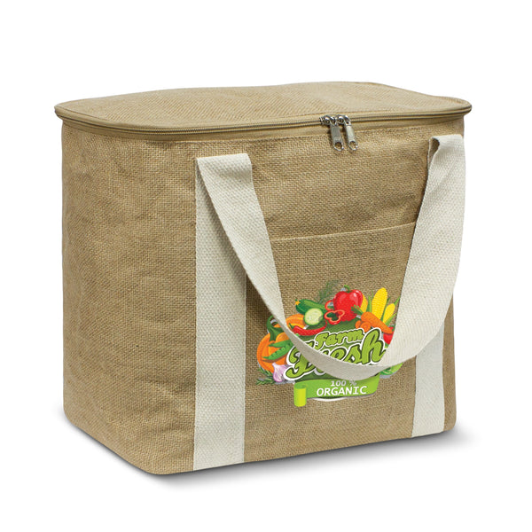 Jute Cooler Bag - Large