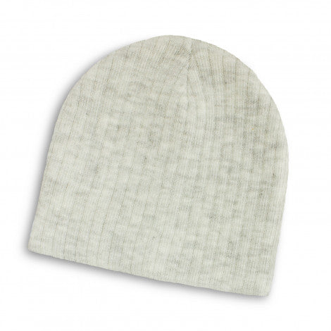 Nebraska Heather Cable Knit Beanie
