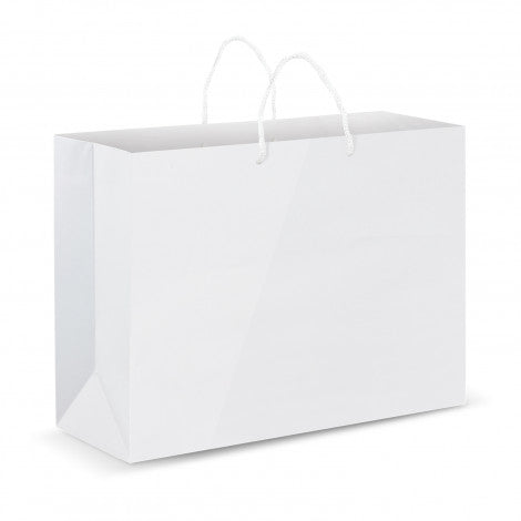 Extra Large Laminated Paper Carry Bag - Full Colour