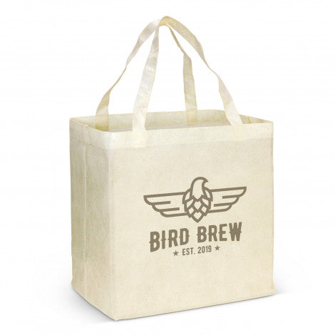 Non Woven Shopping Bag - Natural Look