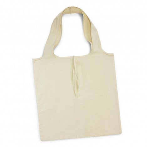 Calico/Cotton Matakana Foldaway Tote Bag