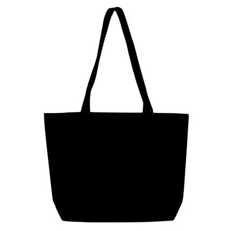 Black Heavy-weight Canvas Market Bag