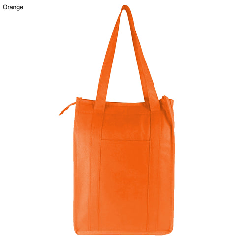 Non Woven Cooler Bag With Zip Closure