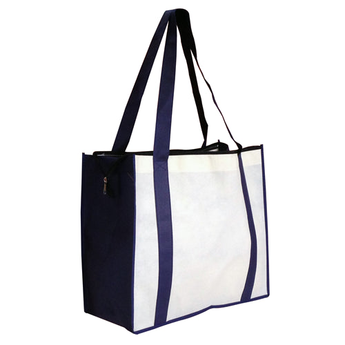 Non Woven Large Shopping With Zipper Closure
