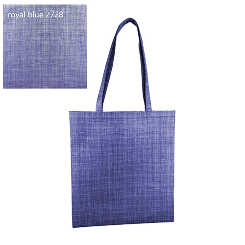 Silver Line Patterned Non Woven Bag Without Gusset