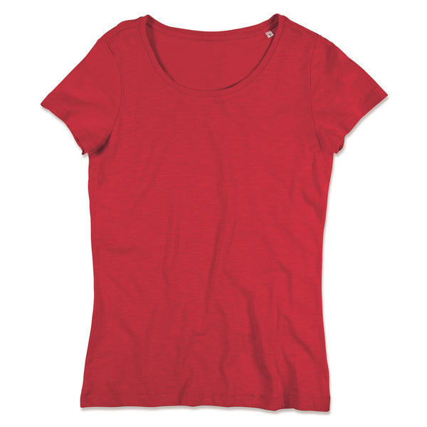 WOMEN'S SHARON SLUB CREW NECK