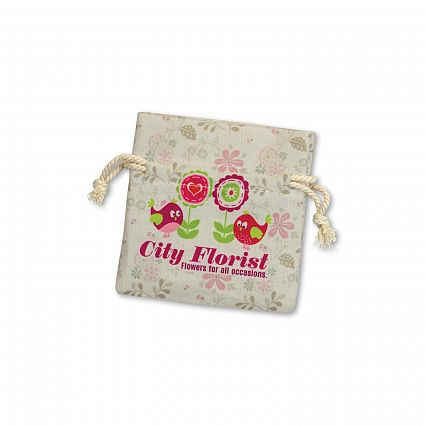 Calico/Cotton Gift Bag - Small