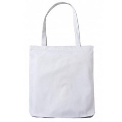White Cotton Tote Bag