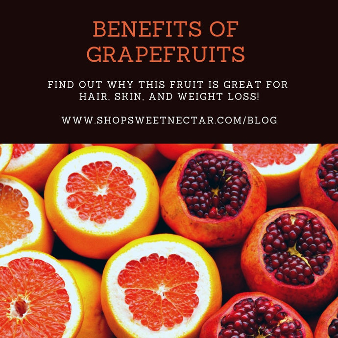Grapefruits: Good for Hair, Skin and Weight Loss