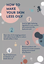 Train Your Skin to Be Less Oily | Sweet Nectar Beauty