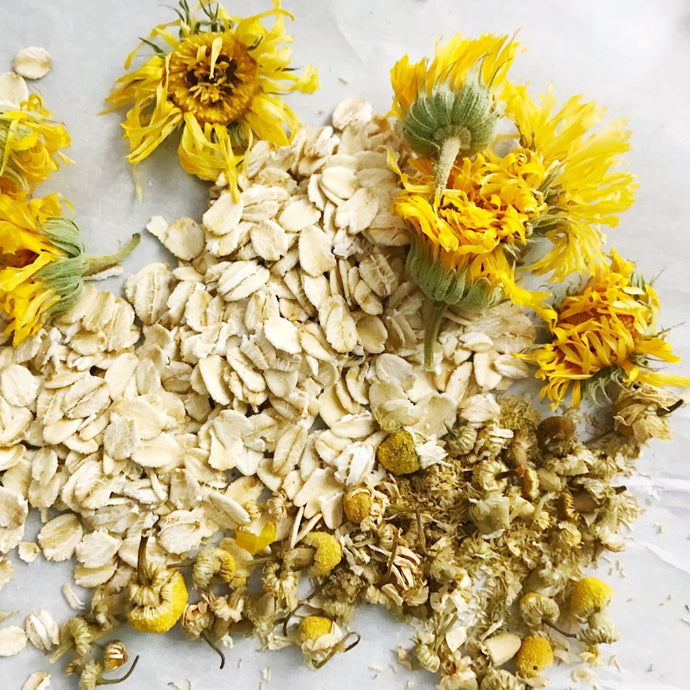 Why Oatmeal and Chamomile are the Power Duo For Skin