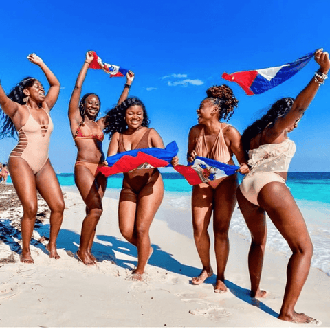 Black Girls in Haiti