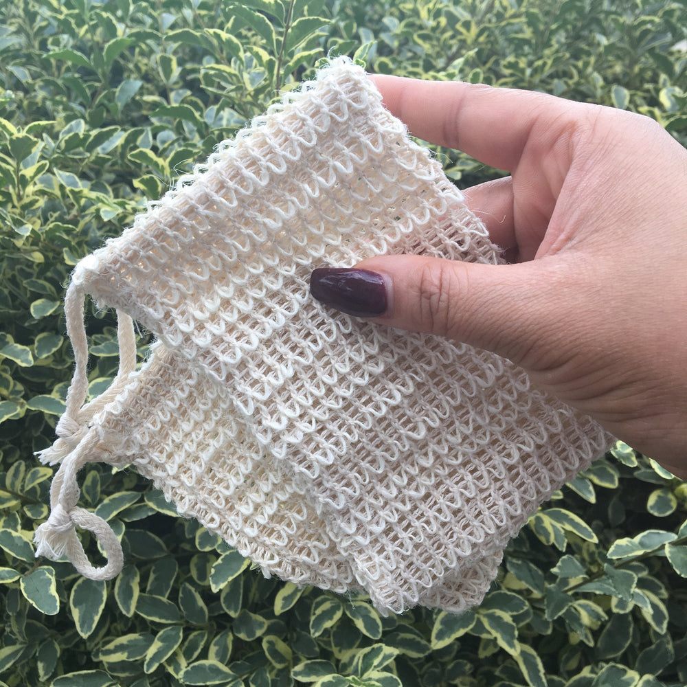 Exfoliating Mesh Soap Bags - Sweet Nectar Beauty
