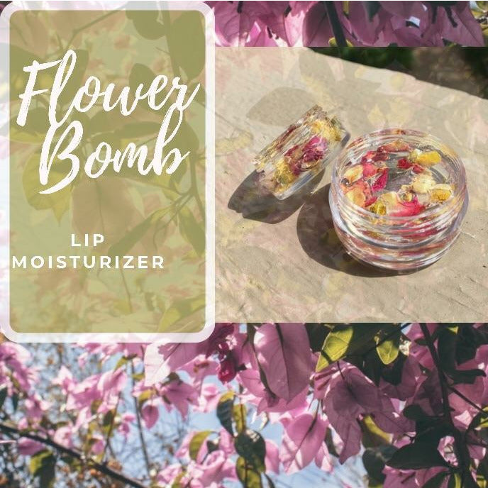 Flower Bomb Lip Moisturizer - Sweet Nectar Beauty