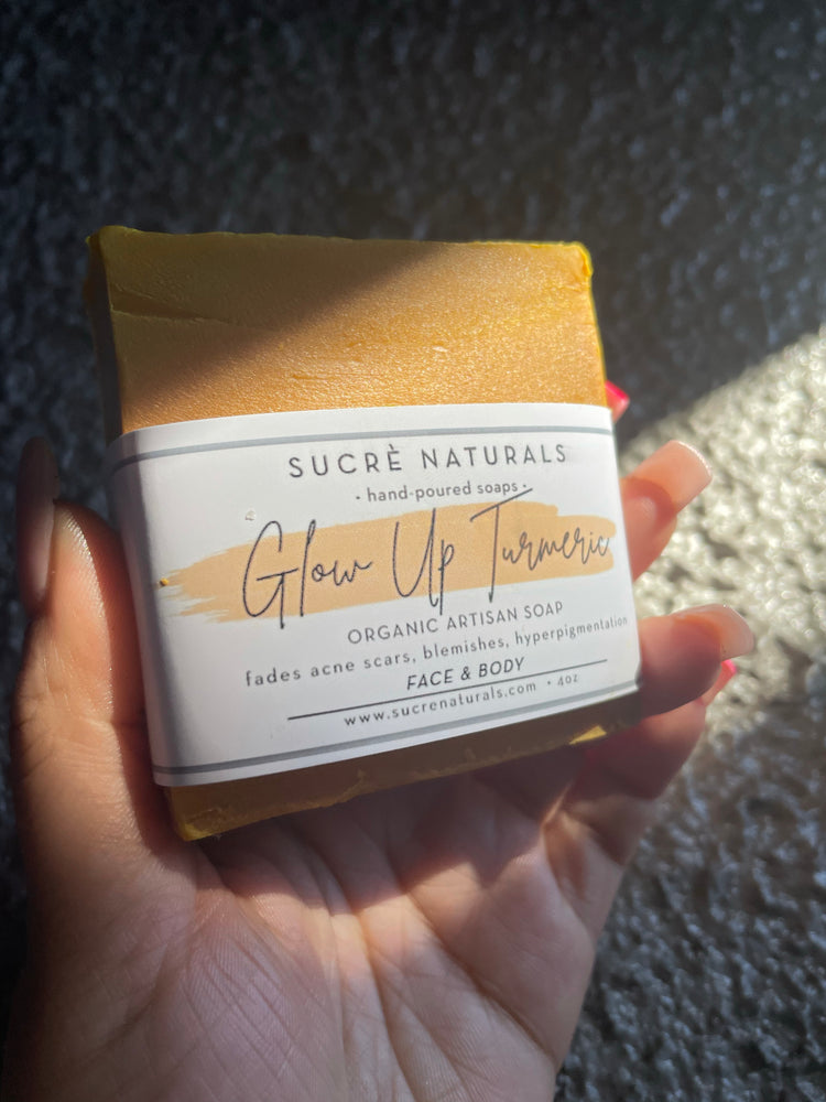 Load image into Gallery viewer, Glow Up Turmeric Soap