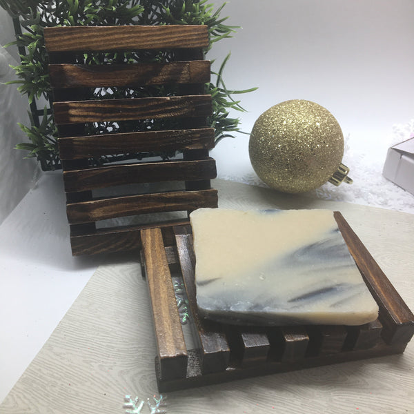 Natural Pine Wooden Soap Holder - Sweet Nectar Beauty