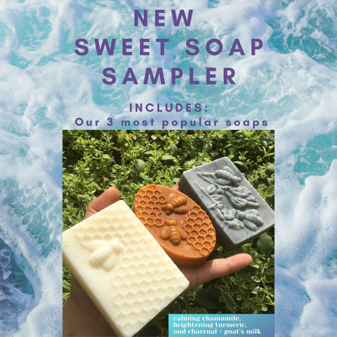 Sweet Soap Sampler - Sweet Nectar Beauty