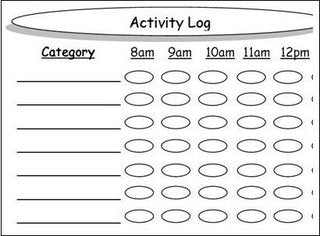Activity Log Graphic