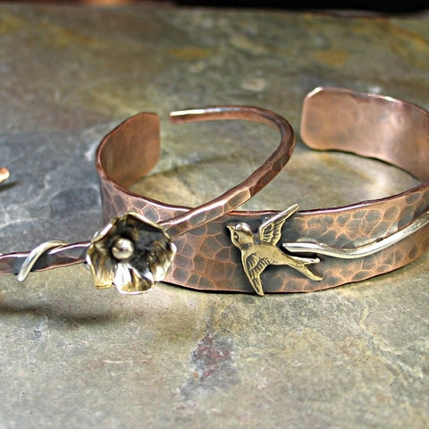 Mixed Metal Cuffs - Sold