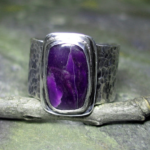 Men's Sugilite Ring - Sold