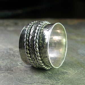 Spinner Ring, Meditation Ring - Spirit of Tibet
