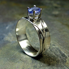 Tanzanite Ring set in Sterling Silver - Sold