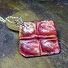 Fold-Formed copper pendant - Time Squared - SOLD
