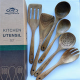 Royalclub Wooden Kitchen Utensil Set