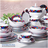 Dankotuwa Mosaic 12pcs Dinner Set