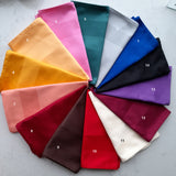 Royalclub Cotton Dinner Napkins with a Satin weaved boarder in 14 assorted colours