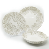 Dankotuwa Green Leaf 12pcs Dinner Set